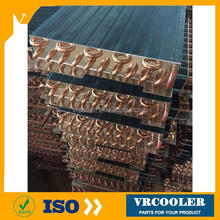 copper tube heat pipe condenser air cooled heat pipe condenser