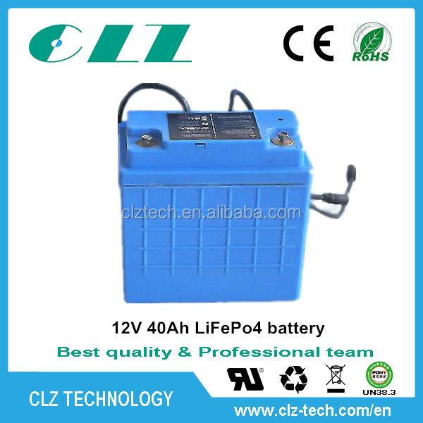 rechargeable li-ion battery pack 12v 30ah for Electric Car, HEV, UPS, Solar energy storage AGV