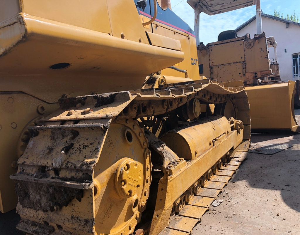 Good quality used cat bulldozer D4C for sale/ cat dozer with low price
