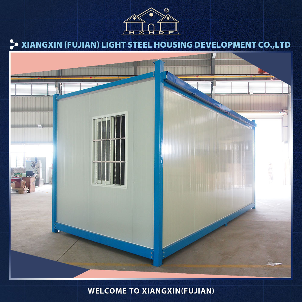 Customized pre fab houses light steel prefab houses