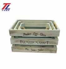 handmade plain wooden fruit crates for sale