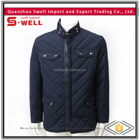 2016 wholesale nylon custom quilted latest design jacket for men