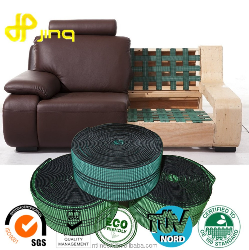 Stocklot Sofa Design Braided Polypropylene Elastic Webbing band for Chairs