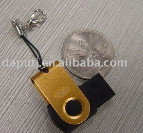 super swivel mini usb flash memory device