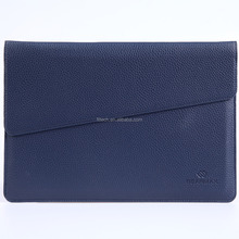 Notebook Felt & Leather Laptop Case sleeve With adaptor case for 11 13 15 inch Macbook