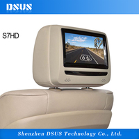 7 Inch Swivel screen headrest digital monitor DVD player for car