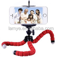 Mini Octopus Sponge camera/phone Tripod Hot sale universal mobile phone tripod