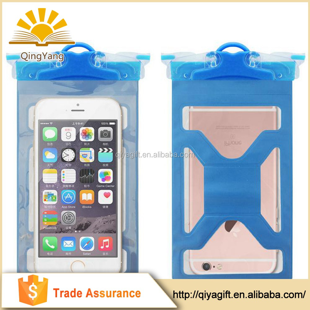 Wholesale high quality transparent pvc waterproof mobile phone bag