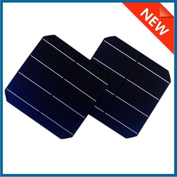 156X156 6inch A grade 3BB/4BB monocrystalline solar cell made in Taiwan