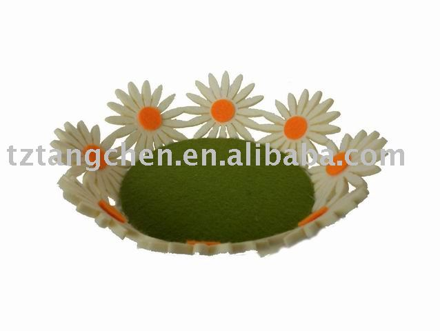 Easter non-woven flower tray