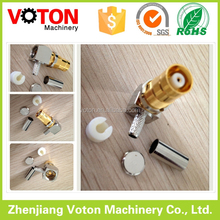 1.6 5.6 male electrical connector L9 rightangle crimp type 90 Degree