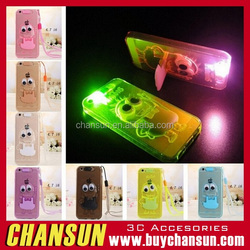 Popular minion led tpu case for iphone 5 many colors have in stock