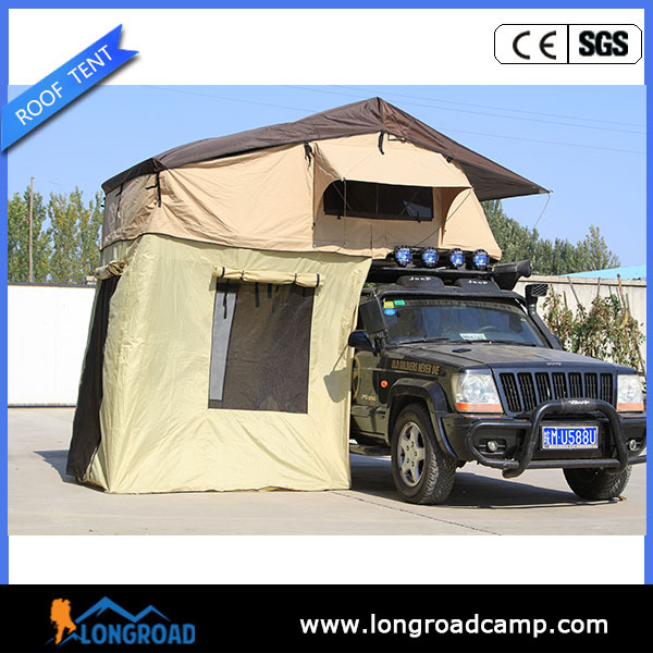 Ripstop canvas 2 person double layer outdoor camping tent