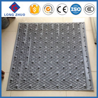Closed cooling tower pvc sheet or named 950mm cooling tower filler