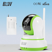 night vision infrared mini sever onvif camera with PIR sensor