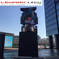 Outdoor creative rotating led display totem