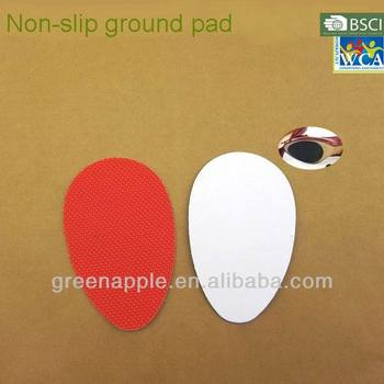 Shoe Care Anti-slip Shoe Sole Protector Adhesive Rubber TPU Red Gripper