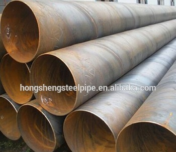 ssaw/lsaw steel pipe for gas oil & water & construction