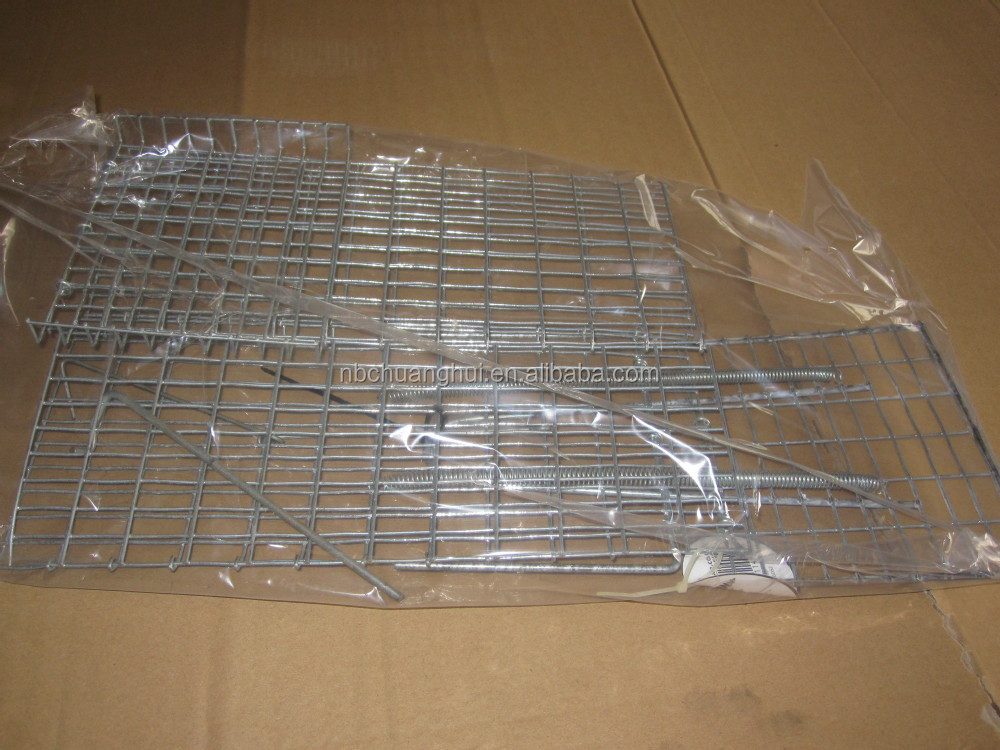 Pest Control Metal Foldable Mouse Trap Cage On Sale For large size