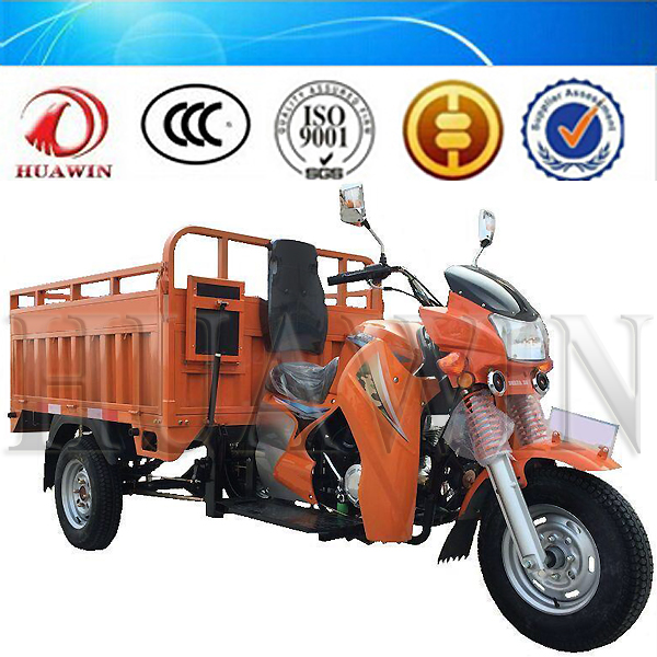 China High Power Three Wheel Motorcycle Air Cooling Cargo Ticycle Heavy Load Trike for Sale