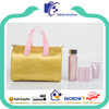 promotional small shiny gold handbag bag for cosmetics