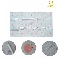 Face Towel Type and Jacquard Style bamboo fabric towel
