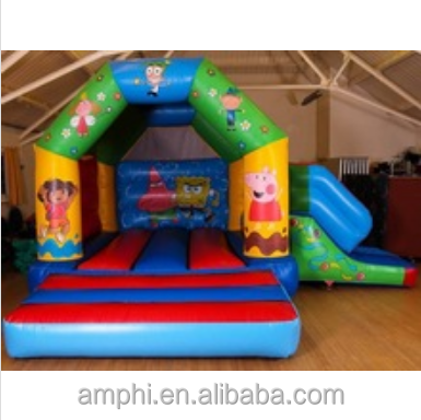 Nickelodeon castle with slide/ Inflatable jumpers combos