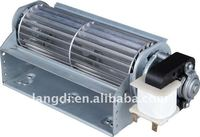 tangential fan/blower with AC/DC motor