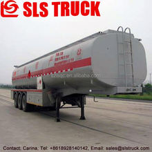 aluminum alloy fuel trailer mounted tank
