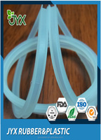 OEM waterproof and heat resistant transparent silicone rubber sealing for lighting
