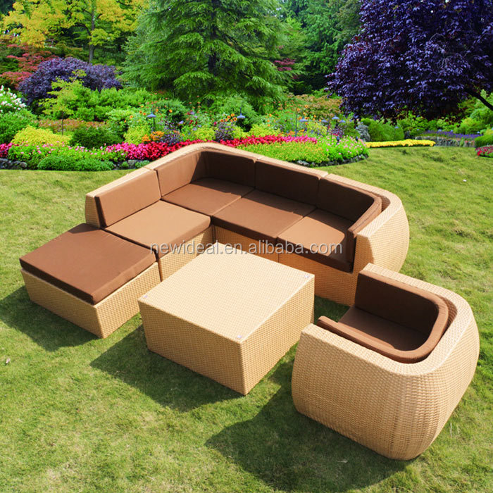 Outdoor garden rattan / wicker sofas (NT8015)