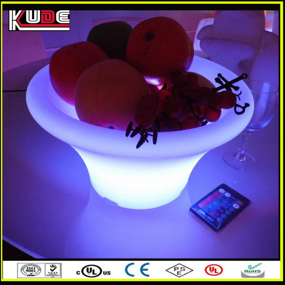 PE plastic custom ice cube beer tray / led tray for bar and hotel