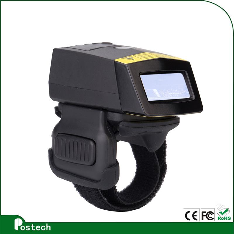 FS01 Finger 1d laser barcode scanner with long range Scan Distance
