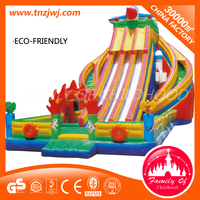 big naughty castle inflatable water slides for sale