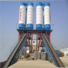 Factory direct supply ready mix concrete mixer plant adhesive for concrete and metal HZS60