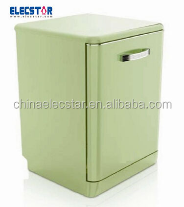 retro refrigerator , electronic freestanding DISHWASHER of different colors,