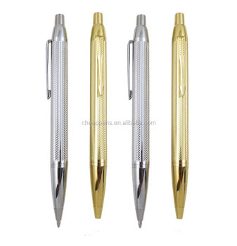 Silver and Gold Metal Gift Ball Pen