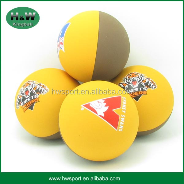 promotional 57mm or 60mm rubber high bounce handball