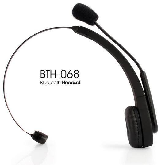 BTH-068 Bluetooth Wireless Headset Long Standby Time BT Earphone for PC PS3 Gaming Earbuds with mic