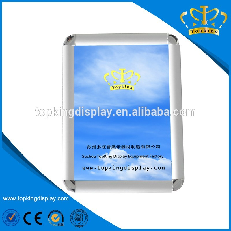 Reusable aluminum picture frame for Advertising