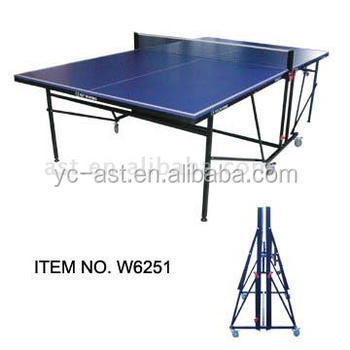 Foldable indoor Table Tennis Table (W6251)