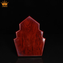 Fashionable tree shaped awards trophies made of wood