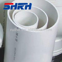 Colorful 3 Inch Water Supply Drainage Underground PVC Pipe