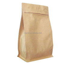 Manufactured in China high quality recycled kraft paper bag food packaging bag