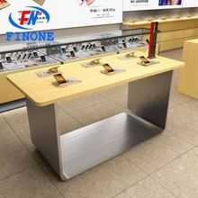 Best mobile phone display counter mobile phone display showcase with led light