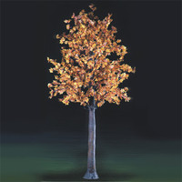 artificial flower outdoor lights canada led maple tree light