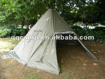 Campsite tent canvas Teepee tents