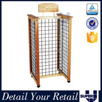 manufacture metal wire mesh display racks and stands