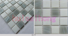 glass golden lines mosaic for swimming pool tile G102