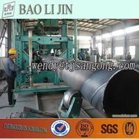 ASTM A53 /API 5L GR.B/X42/X65/X70 PSL1 PSL 2 CARBON STEEL SAW SPIRAL WELDED PIPE